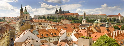 The city of Prague, Czech Republic